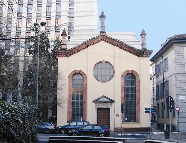 Церковь Сергия Радонежского, Серафима Саровского и Викентия Сарагосского. Милан