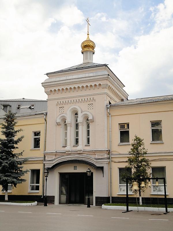 Часовня «Неопалимая Купина» при Управлении противопожарной службы ГУВД г. Москвы