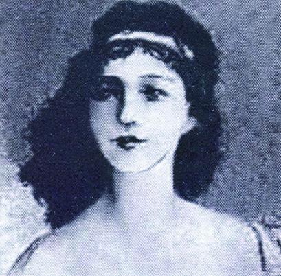Юная испанка Кончита, дочь коменданта крепости