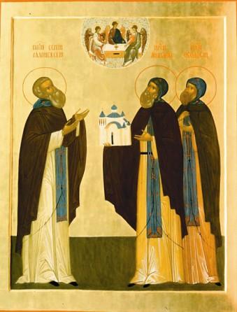Aфанасий и Феодосий Череповецкие. Дни памяти: 5 (18) июля, 25 сентября (8 октября), 26 ноября (9 декабря)