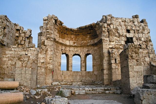 Ресафа – город-призрак, затерянный в сирийской пустыне неподалеку от  библейского Евфрата.