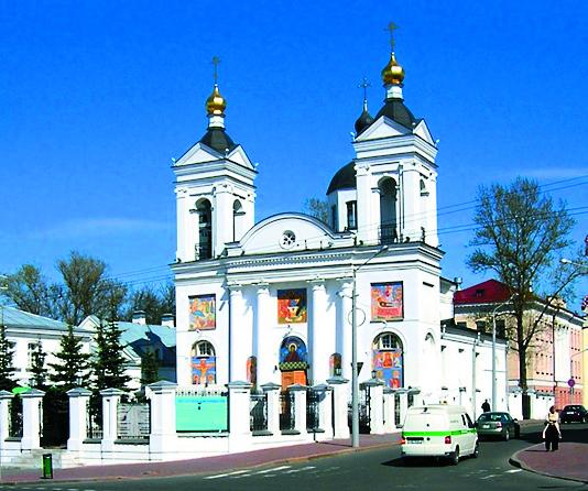 Свято-Покровский собор вВитебске. Здесь крестилась Виктория Макарская