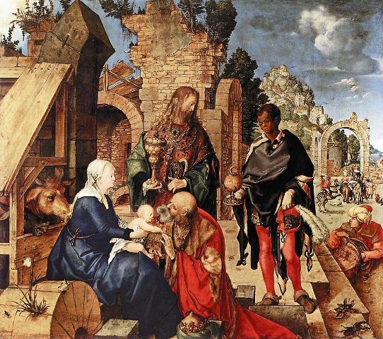 Дары волхвов символизировали три ипостаси Христа: золото предназна- чалось для Царя, ладан – для Бога, смирна – для Мессии, которому пред- стоит умереть