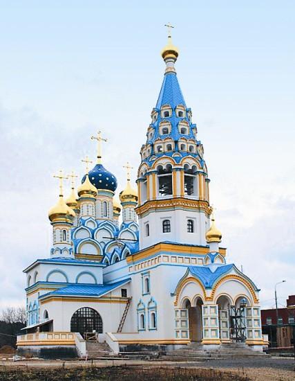 Храм иконы Божией Матери «Неувядаемый цвет» в Рублеве