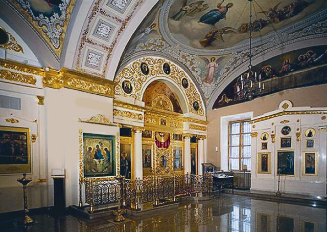 Храм святителя Николая в Толмачах