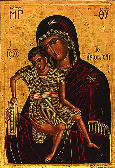 Икона Божией Матери «Достойно есть»
