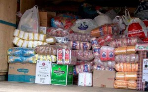 Гуманитарная помощь для беженцев с юго-востока Украины