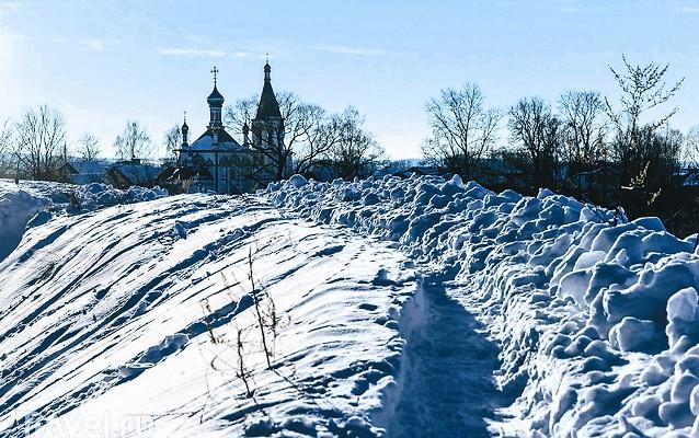 Земляные валы в Переславле-Залесском сохранились лучше, чем в любом другом древнерусском городе