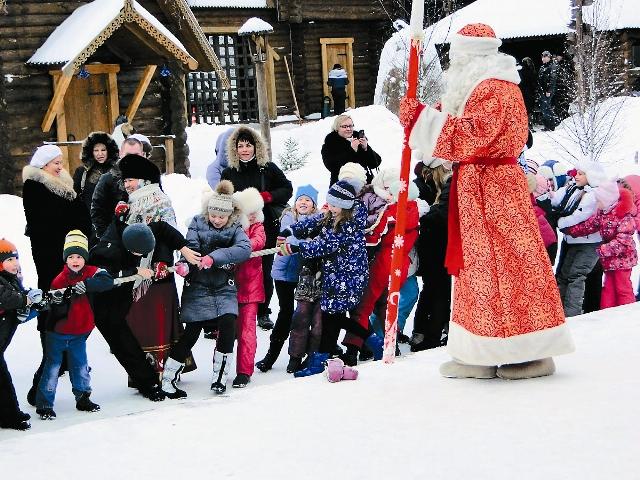 Дед Мороз не даст замерзнуть!