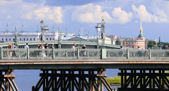 Самый первый Петербургский мост
