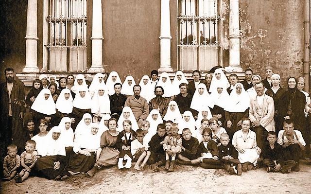 Прихожане храма, 1924 год