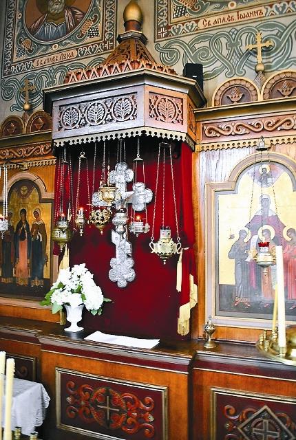 Крест из Ипатьевского дома