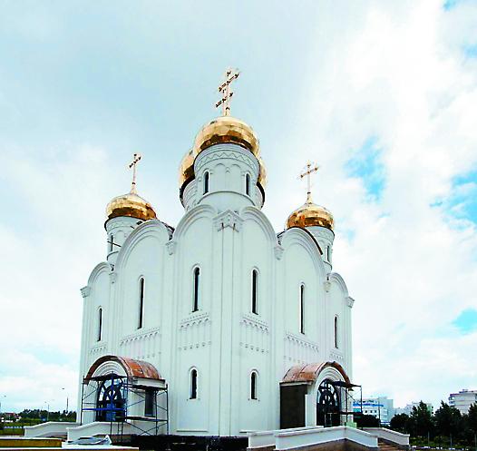 Храм в честь Стефана Пермского