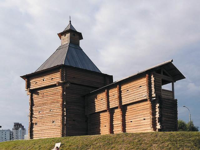 Моховая башня Сумского уезда