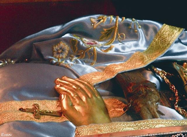 Мощи св. Иоанна Русского