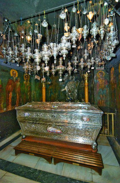 Здесь покоятся мощи святителя Спиридона Тримифунтского