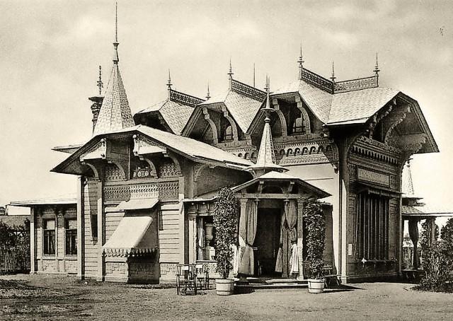 Выставочный павильон товарищества Абрикосовых
