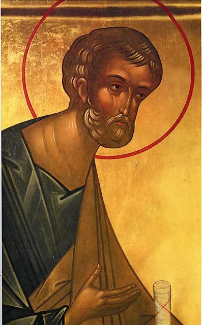 Первым, кто увидел Божественный свет в Гробе Господнем, по свидетельству святых отцов, был апостол Петр. «Скорый Петр предста ко Гробу и, свет зря во гробе, ужасашеся» (Иоанн Дамаскин, Октоих, воскресный седален, глас 8).