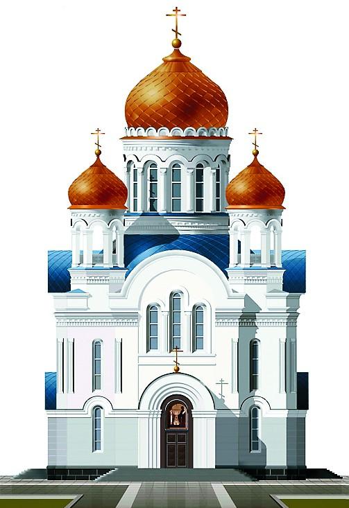 Крестово-купольный храм. С пятью куполами Храм в честь Введения во храм Пресвятой Богородицы (ул. Кетчерская, вл. 2)