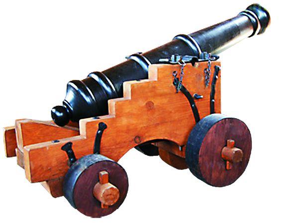 Пушки - ветераны Полтавской битвы