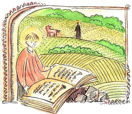 По замыслу Божьему, от- рок Варфоломей должен был по- лучить книжную премудрость от самого Учителя небесного