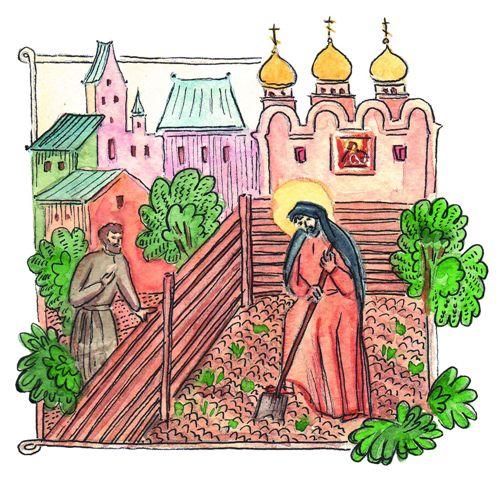 Крестьянин ожидал увидеть важного старца, который ходит по монастырю и раздает всем наставления, а встретил нищего монаха