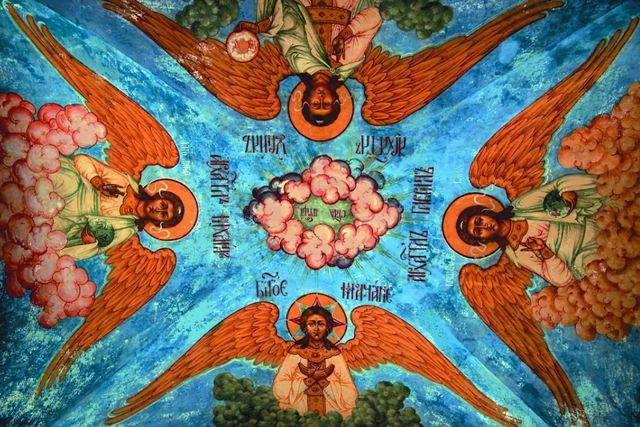 Роспись Толгского монастыря