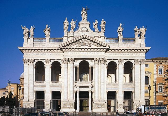 Италия, Рим, собор св. Иоанна Крестителя на Латеранском холме (частица).