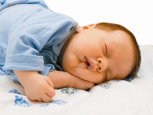 Спит сном младенца