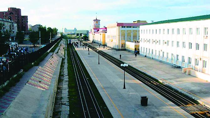 Станция Маньчжурия