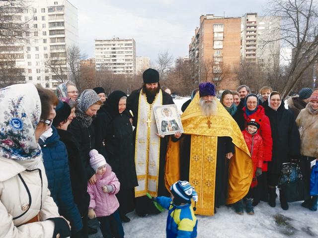 На месте будущего храма с протоиереем Олегом Тэором из Пскова