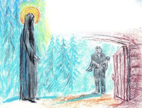 По молитвам Сергия Радонежского воскрес мальчик