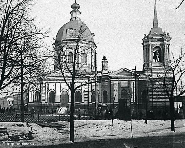 Храм Бориса и Глеба у Арбатских ворот