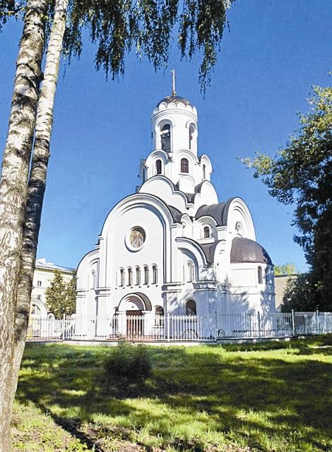 храм Рождества Христова в г. Фрязино Московской области