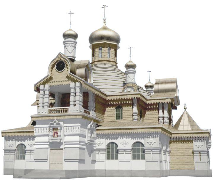 Храм Сергия Радонежского станет настоящим украшением /Ходынского поля