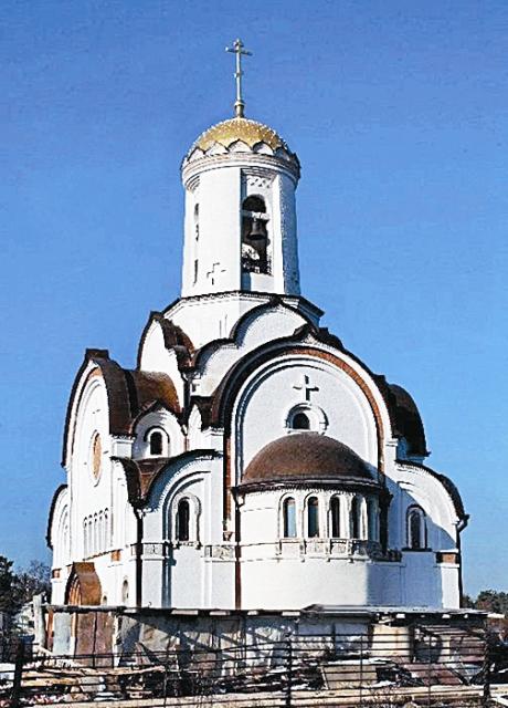 храм св. преподобномученицы Елисаветы (Елизаветы Федоровны) в п. Опалиха Московской области;