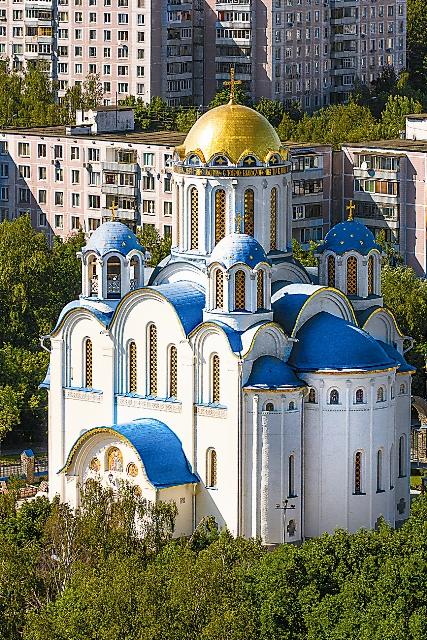 """Покровский собор в Ясенево называют """"Московским Иерусалимом"""""""
