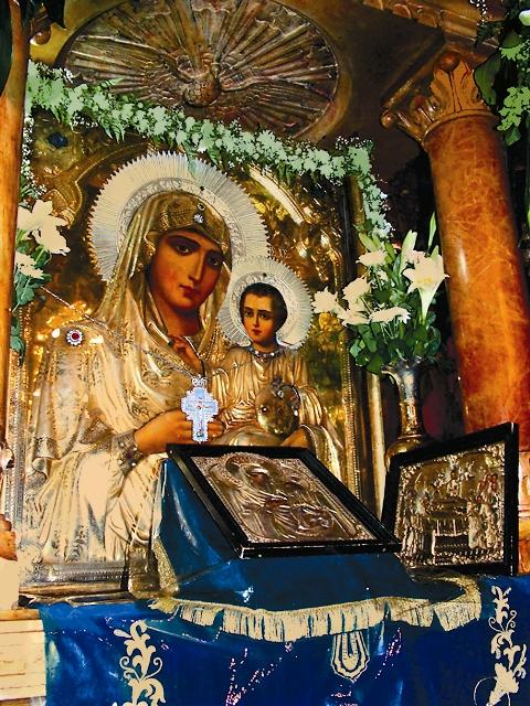 Чудотворная Иерусалимская икона Божией Матери