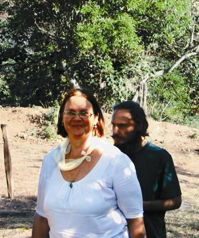 Матушка Елена и волонтер Александр