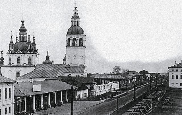 Тобольский Благовещенский храм, разрушенный до основания в 1956 году