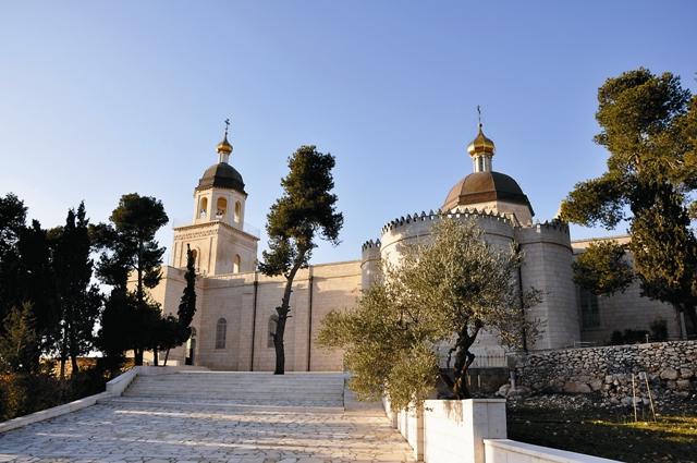 Храм святых Праотцев в монастыре Живоначальной Троицы в Хевроне