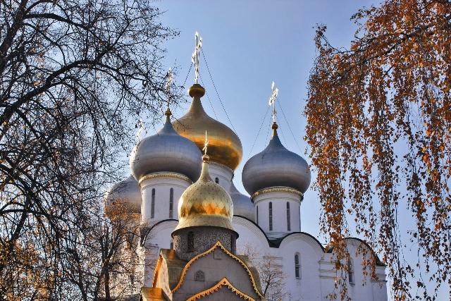 Смоленский собор. Самая древняя постройка монастыря