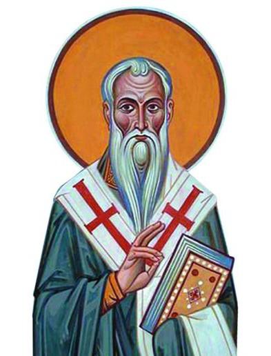 Святитель Стефан Пермский, в честь которого названа церковь, был человеком блестяще образо- ванным. Вместе с Преподобным Сергием Радонежским он был на- ставником великого князя Дми- трия Донского