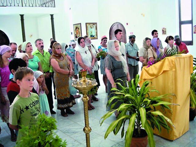 Праздничные богослужения в Казанском храме