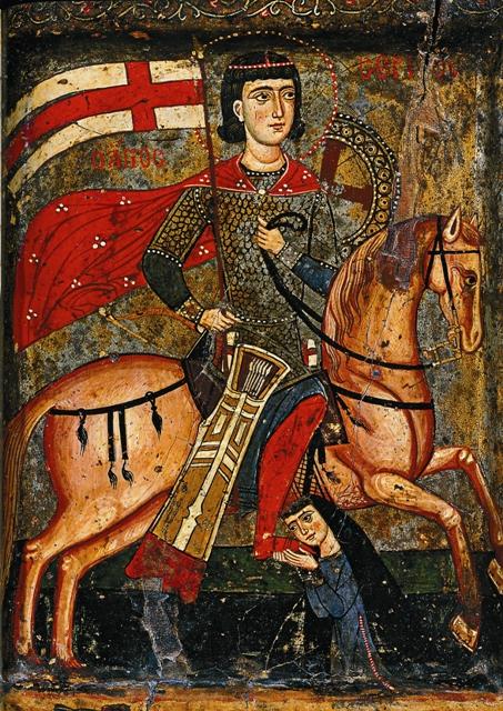 Сергия в кандалах отправили в Ресафу, где зарубили мечом
