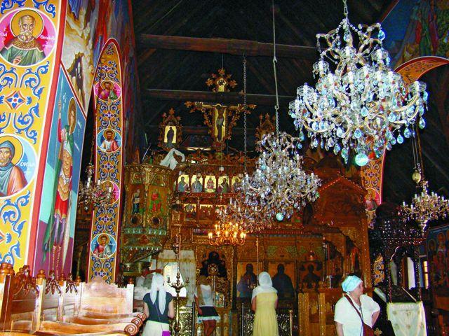 Монастырь Троодитисса — интерьер