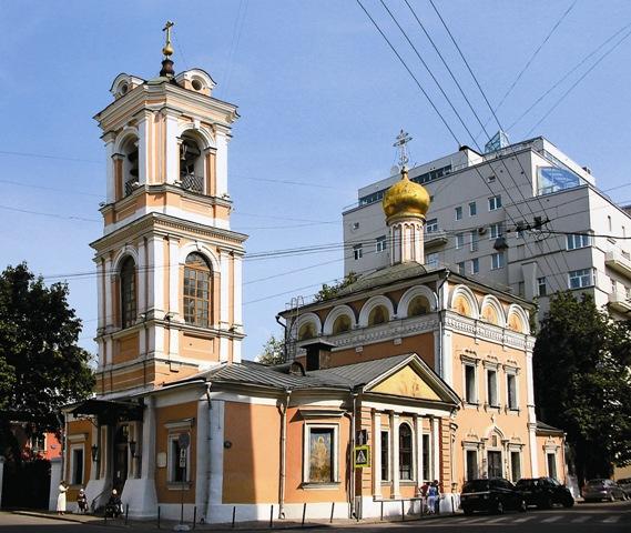 Храм Воскресенья Словущего на Успенском Вражке