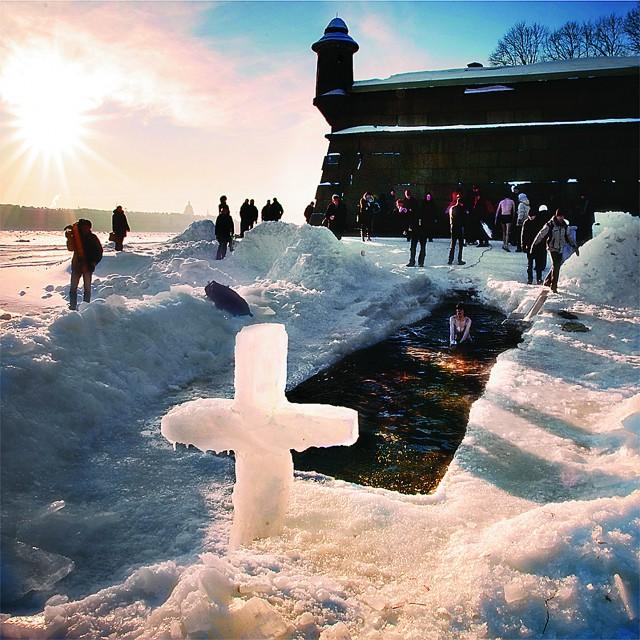 Вода в открытых водоемах сохраняет Божью благодать в течение 7 дней, до отдания праздника
