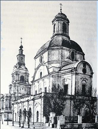 Очень хотелось царю иметь в Москве храм, посвященный его небесным покровителям, подобный тем, что видел он в Западной Европе