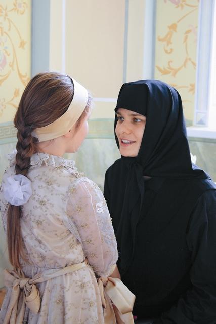 При монастыре открыт приют для девочек